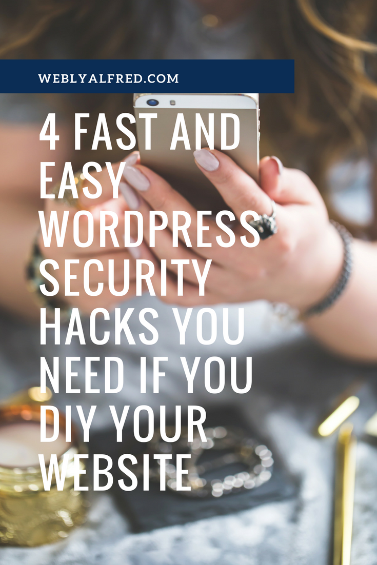 wordpress security hacks
