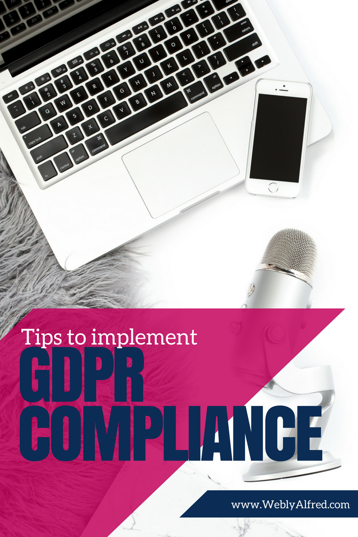 gdpr compliance tips